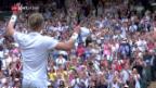 Video «Anderson und Isner schreiben in Wimbledon Tennis-Geschichte» abspielen