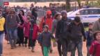 Video «12 000 Flüchtlinge in 24 Stunden» abspielen