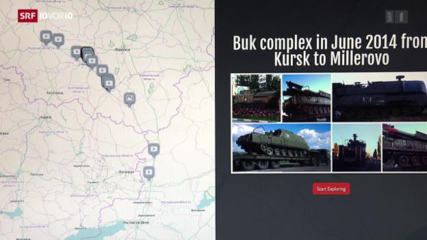Video «FOKUS: Blogger wollen Russlands Unschuld widerlegen» abspielen