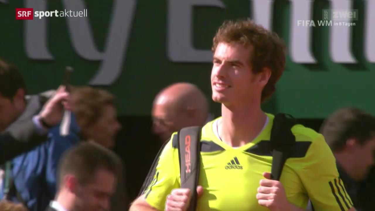 Tennis: French Open, Monfils - Murray