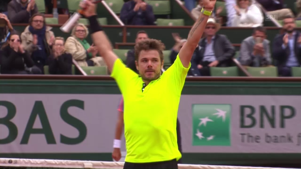 Wawrinka-Rosol: Die Live-Highlights