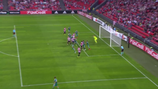 Video «Bilbao landet gegen Rapid einen Mini-Sieg» abspielen
