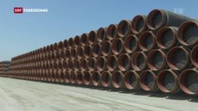 Video «Kritik an Nord Stream 2» abspielen