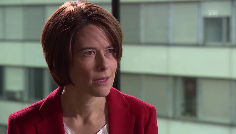 FDP-Nationalrätin Gössi zum Europa-Dossier