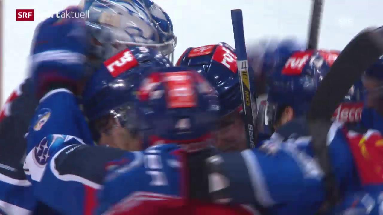 Eishockey: NLA, ZSC Lions - Biel