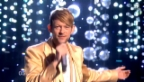 Video «Sehen Sie hier den Auftritt von Michael von der Heide im zweiten Halbfinale des ESC.» abspielen
