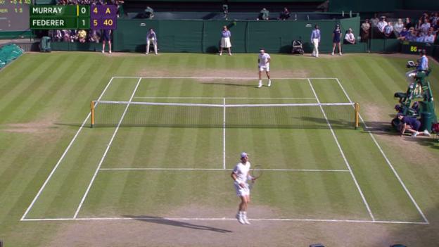 Video «Tennis: Wimbledon, Federer - Murray, Long Game» abspielen