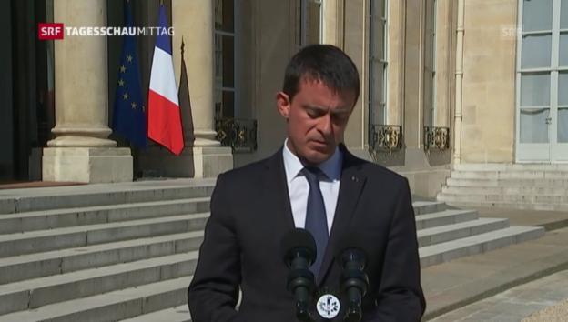 Video «Premier Valls: «Wir leben in einem neuen Zeitalter»» abspielen
