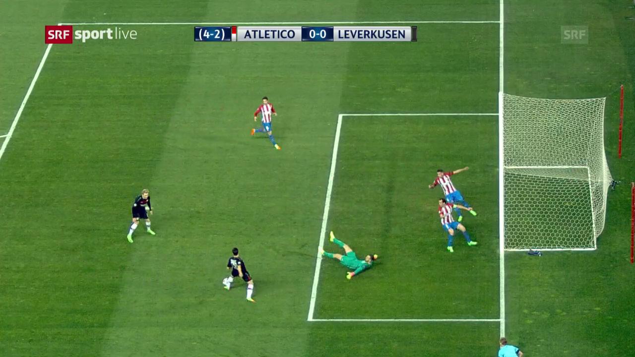 Eine Szene, vier Chancen, null Tore für Leverkusen