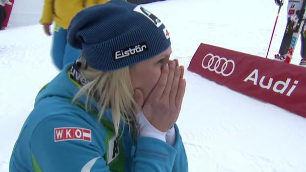Video «Ski Alpin: Zusammenfassung Slalom in Aspen» abspielen