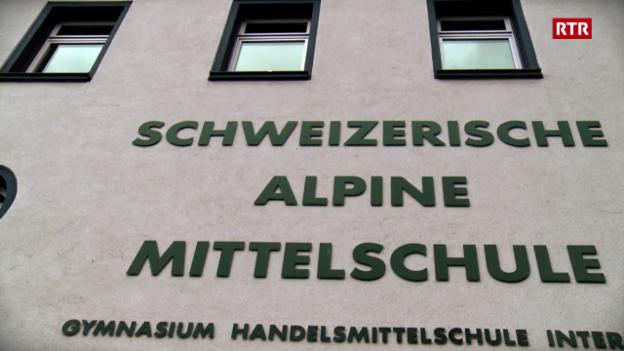 Laschar ir video «Schweizerische Alpine Mittelschule»