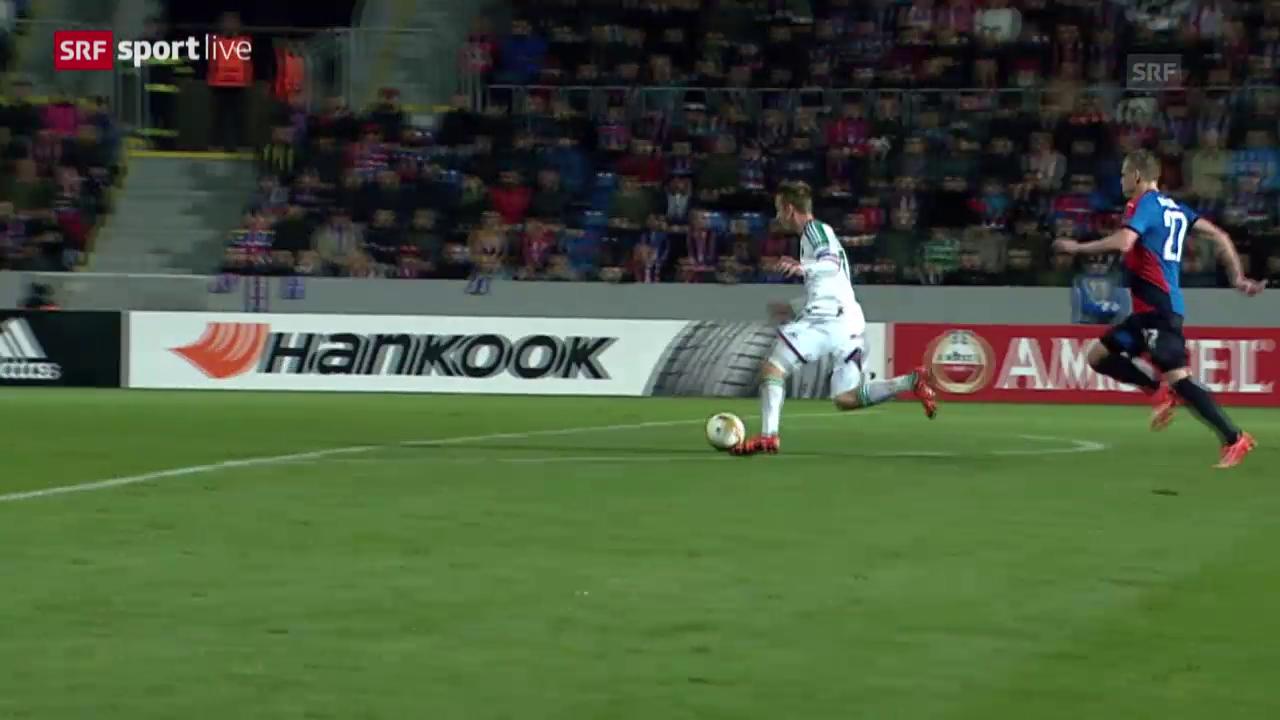 Fussball: Europa League, Tor Schobesberger Rapid Wien