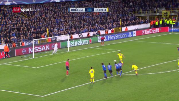 Video «Porto dreht Partie in Brügge» abspielen