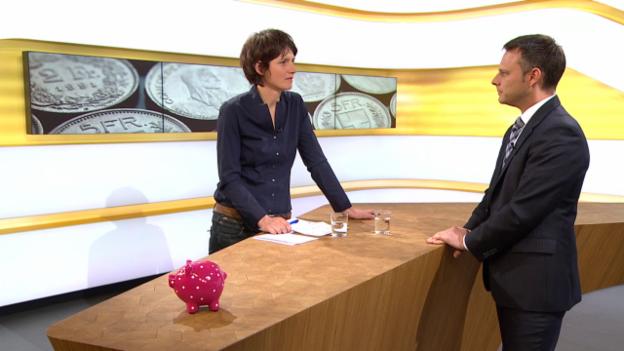 Video «Studiogespräch mit Florian Schubiger von Vermögenspartner AG» abspielen