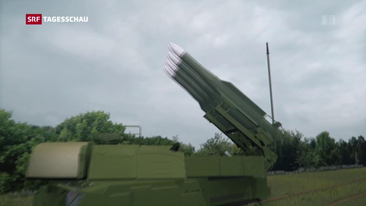 Russische Raketen schossen MH17 ab