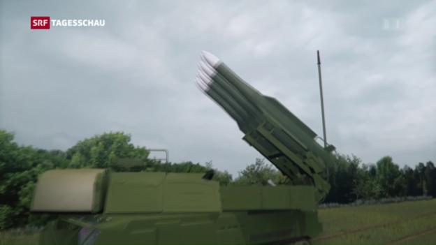 Video «Russische Raketen schossen MH17 ab» abspielen