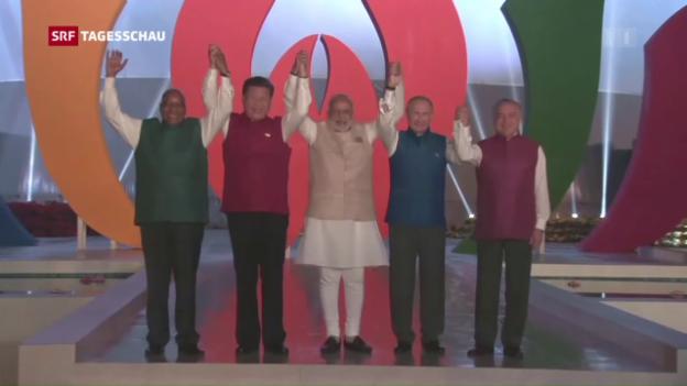 Video «Brics-Gipfel startet in Goa» abspielen