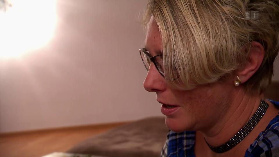 Der schleichende Verlust ihres Mannes ist für Nathalie De Febis nur schwer zu ertragen: «Wir waren 27 Jahre lang ein Team – haben uns geliebt.»