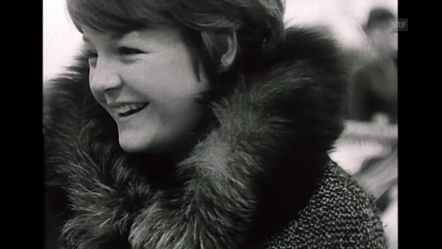 Video «Die berühmteste Frau der Welt? (aus «Magazin der Frau», 8.2.1964)» abspielen