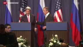Video «USA und Russland einigen sich zu Syrien» abspielen