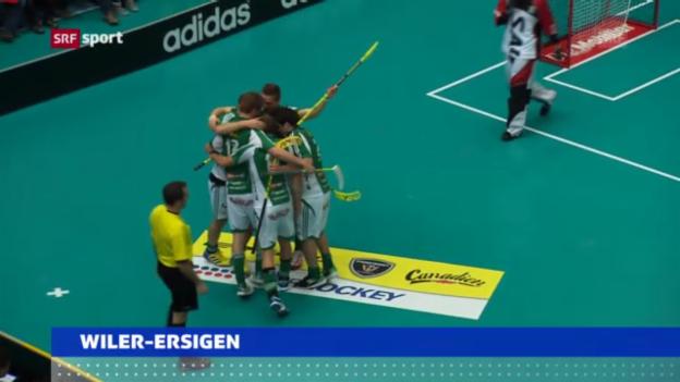 Video «Unihockey: Cupfinals» abspielen