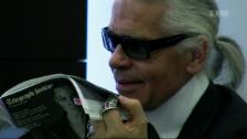 Link öffnet eine Lightbox. Video «Lagerfeld Confidential» - Doku im Andenken an Karl Lagerfeld abspielen