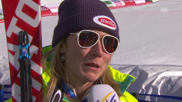 Video «Ski alpin: WM in Vail/Beaver Creek, Porträt Mikaela Shiffrin» abspielen