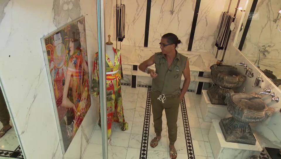 Valentino zeigt seine Luxus-Villa