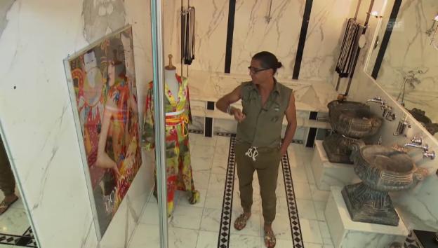 Video «Valentino zeigt seine Luxus-Villa» abspielen