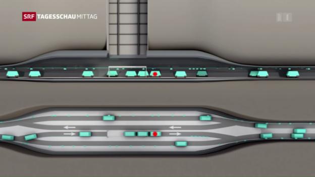 Video ««Cargo Souterrain» – ein Zukunftsprojekt» abspielen