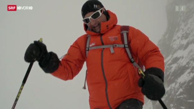 Video «Mit Ueli Steck auf dem Sprung zum Everest» abspielen