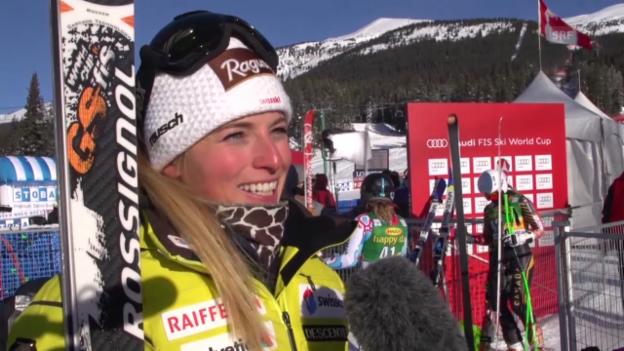 Video «SKI: Interview Teil II mit Lara Gut» abspielen