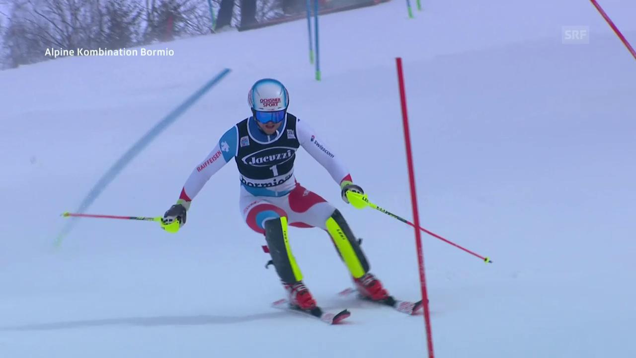 Mauro Caviezels starke Slalom-Fahrt