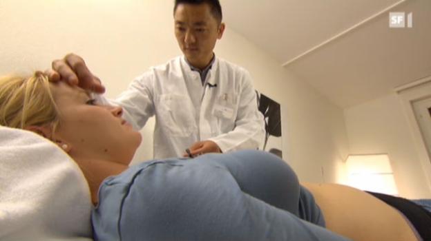 Video «Akupunktur gegen Schwangerschaftsübelkeit» abspielen