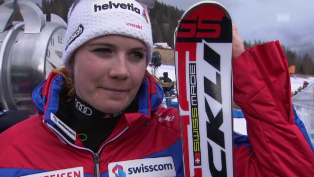 Video «Ski alpin: Nadja Jnglin im Interview» abspielen