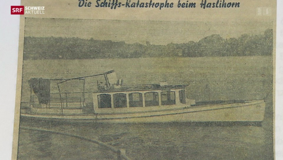 Das grösste Schiffsunglück der Schweiz