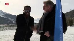 Video «Jürg Marquard zeigt Charles Nguela das «White Turf»» abspielen