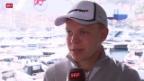 Video «Formel 1: Der dänische Rookie Kevin Magnussen überrascht alle» abspielen
