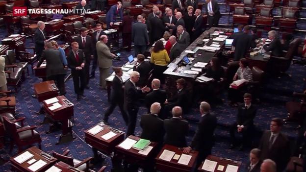 Video «Atomabkommen passiert US-Senat» abspielen