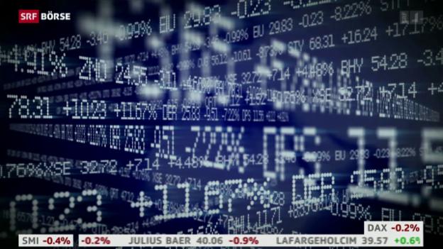 Video «SRF Börse vom 29.02.2016» abspielen