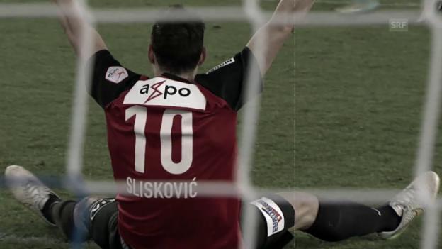 Video «Fussball: Licht und Schatten beim FC Aarau» abspielen