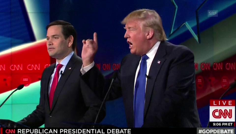 Heftige Wortgefechte bei TV-Debatte
