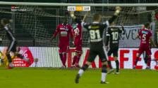 Link öffnet eine Lightbox. Video Lugano und Sion trennen sich 2:2 abspielen