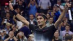 Video «Federer muss gegen Tiafoe über 5 Sätze» abspielen