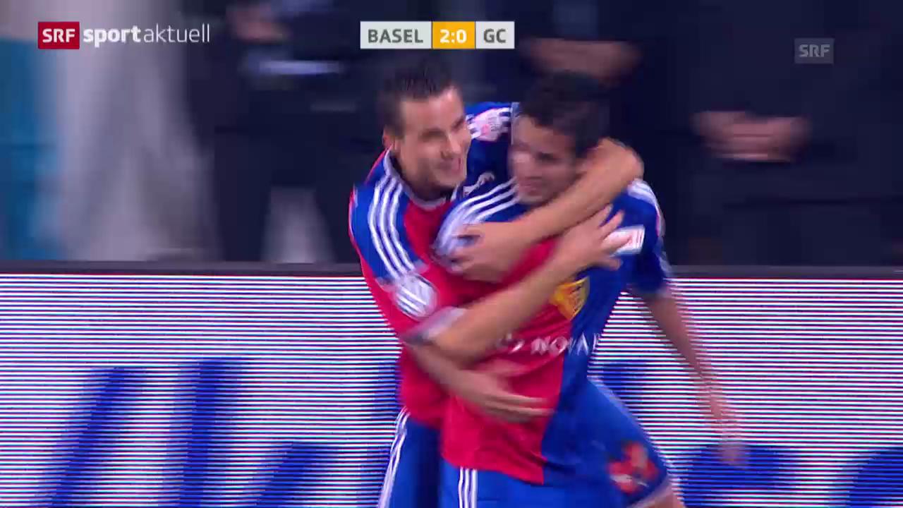 Fussball: Matchbericht Basel-GC («sportaktuell»)