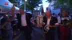 Video «Lyss feiert Unspunnen-Sieger Christian Stucki» abspielen