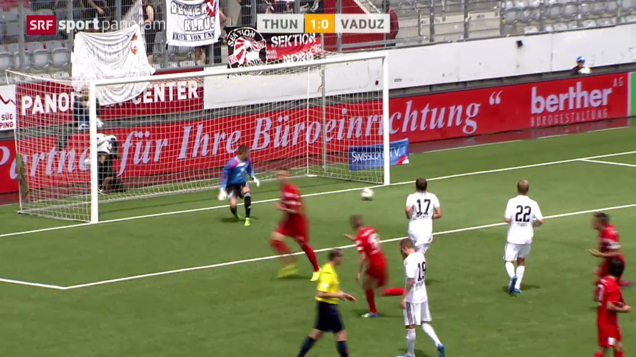 Fussball: Thun - Vaduz
