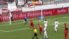Video «Fussball: Thun - Vaduz» abspielen