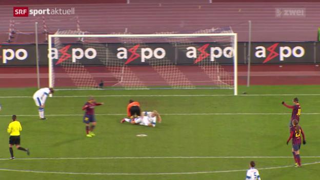 Video «Fussball: CL Frauen, FC Zürich - FC Barcelona» abspielen