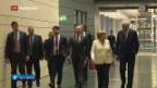 Video «Sondierungsrunde für Jamaika-Koalition in Berlin» abspielen